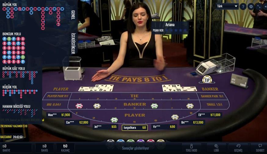Onwin Canlı Casino Oyunları Nasıl Oynanıyor ?
